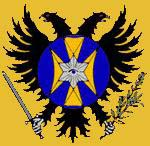 Link to NEW BYZANTIUM or The AMERICAS: Product of Western Civilization and a historical continuum forged by freedom of religion and thus free Christian thought; initiated by Constantine the Great. (The mark is property of the Grand Duchy of Hesperia-County of Ayla.)