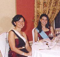 The Princesses Maria Eugenia Isabel and Helena Isabel Eirene Lascaris Comnenus.