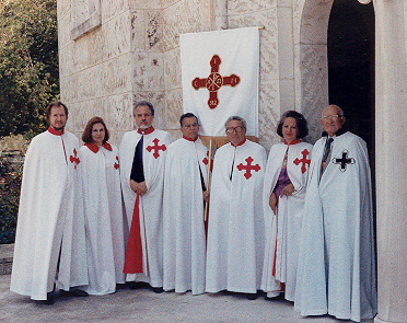 The Order of St. Constantine the Great and the Order of St. Helen at the Cathedral of St. Sophia in Miami, Florida on March 23, 1989.