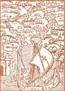 Front cover of the book, 'Quinto Centenario' by Dr. Theodore IX Lascaris Comnenus.